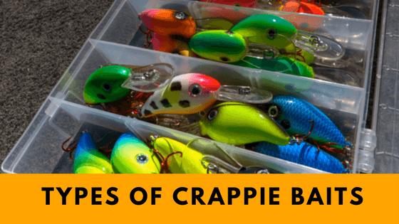 Types of Crappie baits
