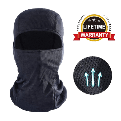 DUWOEXT Balaclava Breathable Motorcycle Face Mask Lightweight Adjustable Full Face Mask