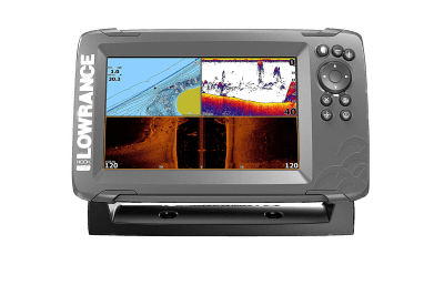 Lowrance HOOK2 7-7-inch Fish Finder with TripleShot Transducer