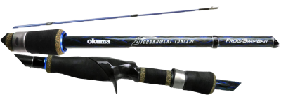 Okuma Tournament Concept Bass Fishing Rods