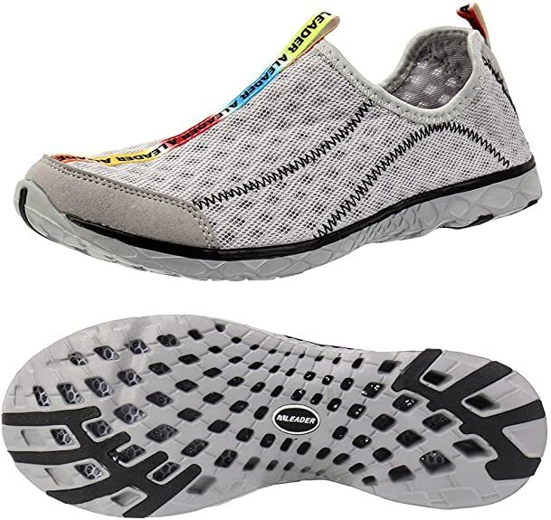 Aleader Men's Mesh Water Shoes
